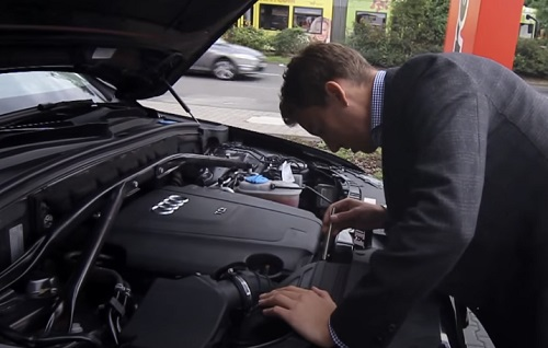 car engine inspection before buying